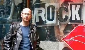 Francis Métivier, professeur de philosophie à SAUMUR, musicien, auteur de Rock'n philo et Rap'n philo.