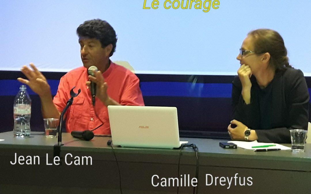 Le courage, rencontre entre Jean Le Cam et Camille Dreyfus Le Foyer