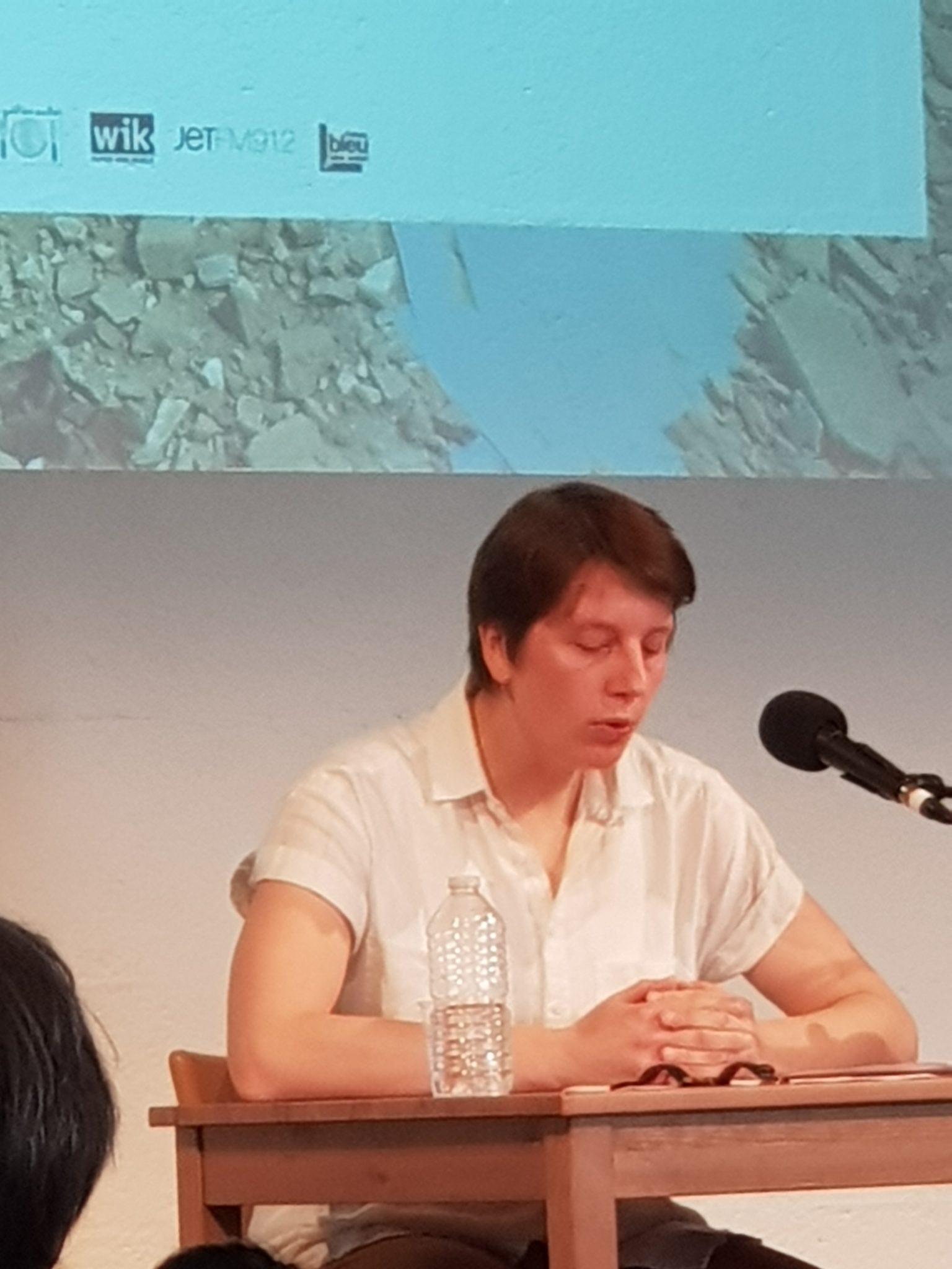 Rencontre sde Sophie Guerre et paix Philosophia Lieu Unique de Nantes Sophie Pécaud