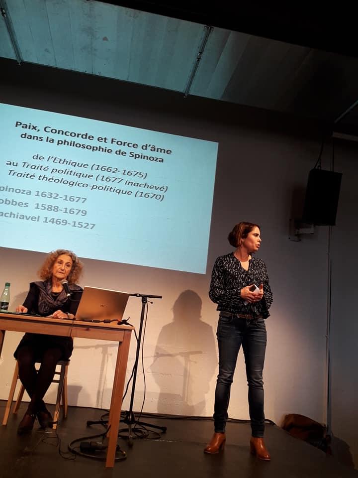 Rencontre sde Sophie Guerre et paix Philosophia Lieu Unique de Nantes baudouin guillemeau