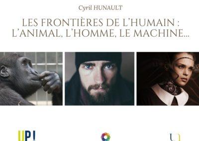 Cyril HUNAULT Les frontières de l'humain l'animal, l'homme, le machine…