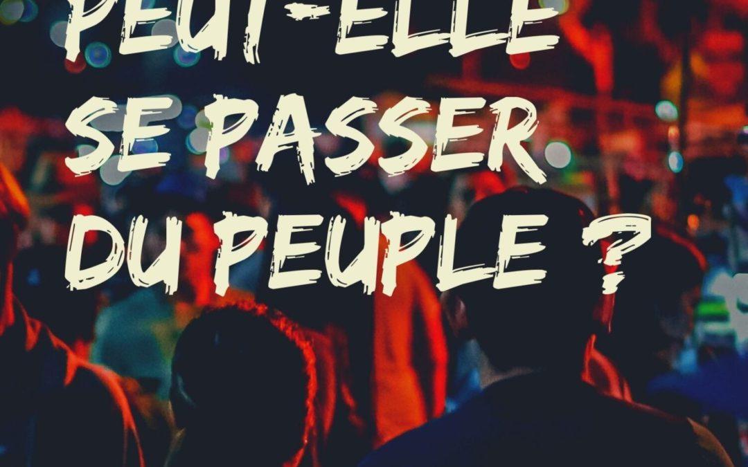 Exercice de philosophie n° 9 : La politique peut-elle se passer du peuple ?