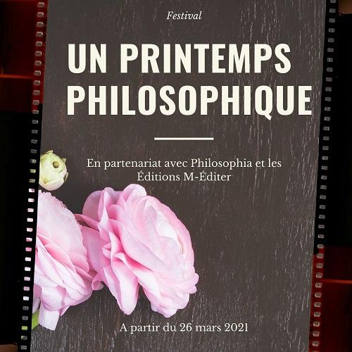 Un printemps philosophique